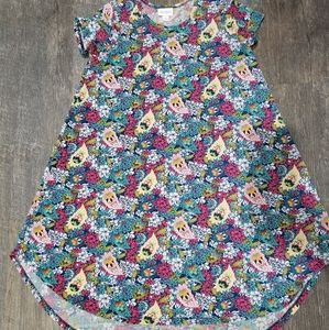 Girls Lularoe Scarlett dress